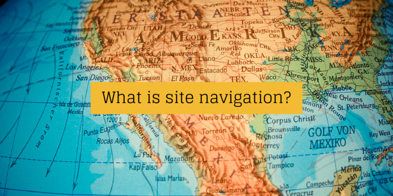 What is site navigation_