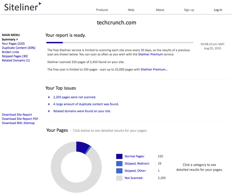 techcrunch_com_-_Site_Report_-_Siteliner